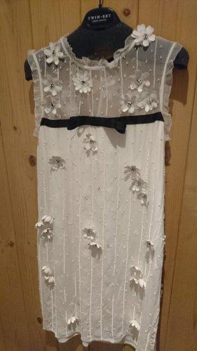 Twinset Kleid, off white