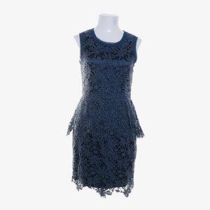 TwinSet Kleidchen feminin S 36/38 mit floraler Spitze dunkelblau Elegant