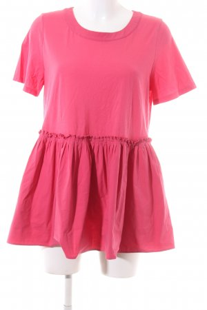 Twinset Kurzarm-Bluse pink Casual-Look