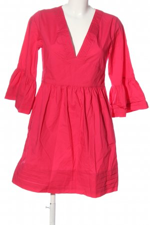 Twinset Langarmkleid rot Casual-Look