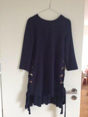 Twinset Milano TWIN SET Traumhaftes Kleid Marineblau Gr. 38 (44 Italienisch)