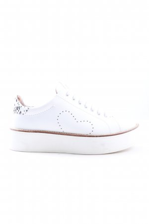 Twinset Schnürsneaker Animalmuster Casual-Look