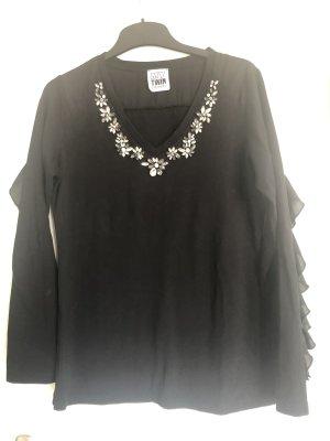 TWINSET Shirt Langarm schwarz