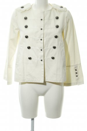 TwinSet Simona Barbieri Military Jacket cream elegant