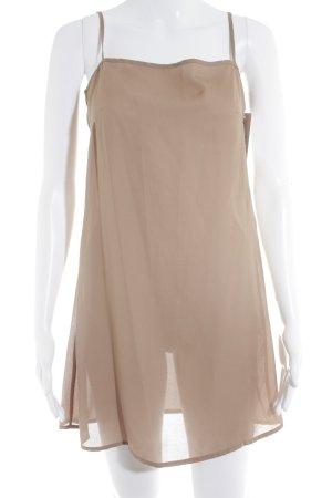 TwinSet Simona Barbieri Trägerkleid beige