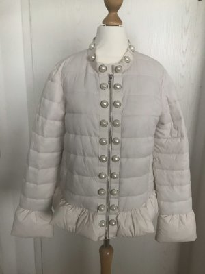 Twin set Quilted Jacket natural white