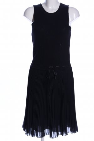 Twinset Strickkleid schwarz Casual-Look