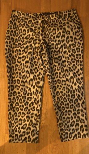Twinset Twin Set XXXL 48 Hose Chino Leo Leopard