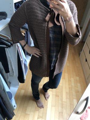 Vicolo Coarse Knitted Jacket multicolored