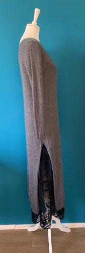 Twinset - Wollkleid mit Cutouts und Spitzen Unterkleid - Größe M