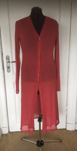 Twin set Cardigan red-pink polyamide