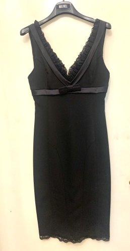 TwinSet Simona Barbieri Vestido ceñido de tubo negro