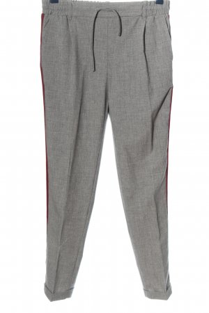 Twintip Pleated Trousers weave pattern business style