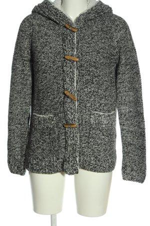 Twintip Cardigan grigio chiaro puntinato stile casual