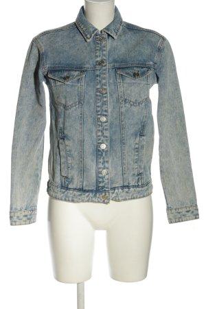 Twintip Jeansjacke blau Casual-Look
