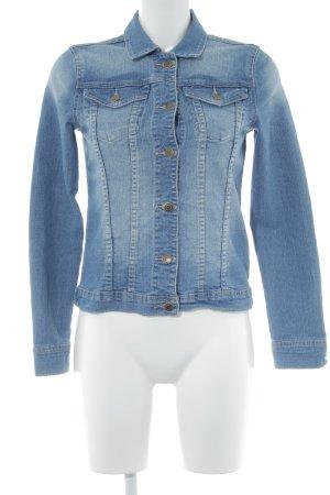 Twintip Jeansjacke kornblumenblau Casual-Look