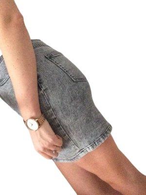 Twintip Gonna di jeans grigio chiaro stile casual