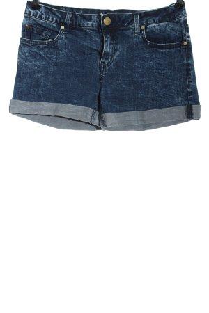 Twintip Pantaloncino di jeans blu stile casual