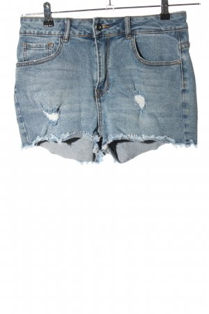 Twintip Denim Shorts blue casual look