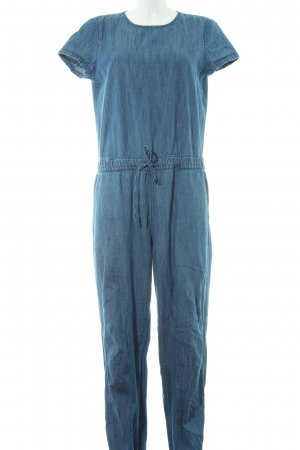 Twintip Jumpsuit blau Jeans-Optik