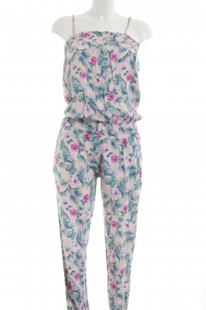 Twintip Jumpsuit Allover-Druck Casual-Look