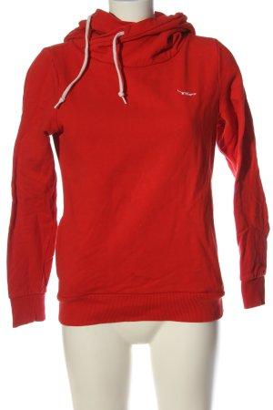 Twintip Sweat à capuche rouge style décontracté