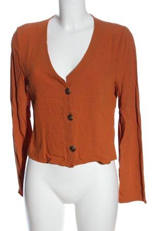 Twintip Camicia a maniche lunghe arancione chiaro stile casual