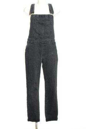 Twintip Salopette en jeans gris clair style décontracté