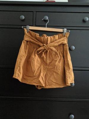 Twintip High-Waist-Shorts multicolored cotton