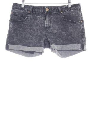 Twintip Shorts anthrazit Washed-Optik