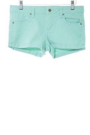 Twintip Shorts türkis Allover-Druck Casual-Look