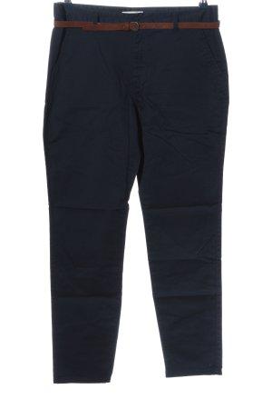 Twintip Stoffhose blau Business-Look