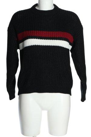 Twintip Maglione lavorato a maglia motivo a righe stile casual