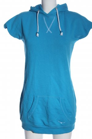 Twintip Sweatkleid blau Casual-Look