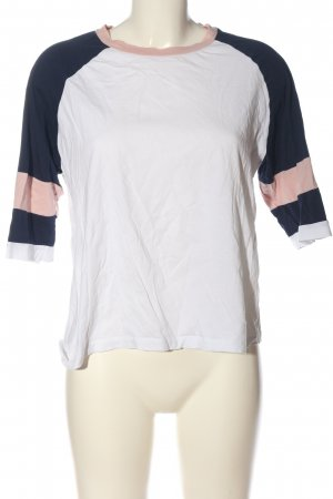 Twintip T-Shirt Streifenmuster Casual-Look