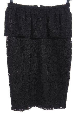 TWIST Lace Skirt black elegant