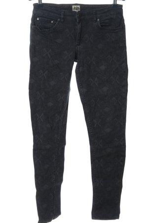 Twist & Tango Jeans a sigaretta grigio chiaro motivo astratto stile casual