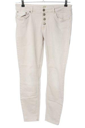 Twist & Tango Jeans slim fit bianco sporco stile casual