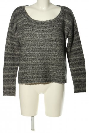 Twist & Tango Maglione lavorato a maglia nero-grigio chiaro stampa integrale