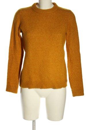 Twist & Tango Maglione di lana arancione chiaro stile casual