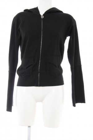 twisted heart Sweatjacke schwarz Casual-Look