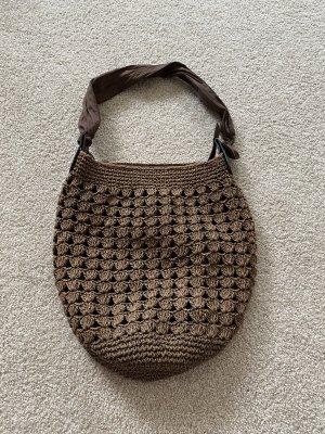 Pouch Bag dark brown