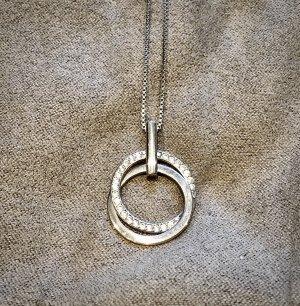 Juwelier Srebrny łańcuch srebrny-biały