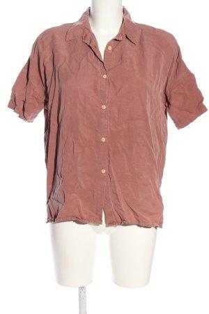 Twothirds Shirt met korte mouwen roze casual uitstraling