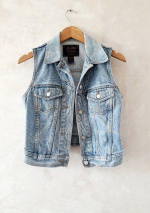 BeBop Gilet en jean bleu azur