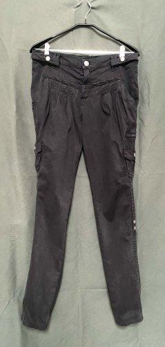 Rock & Republic Low-Rise Trousers black cotton