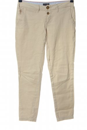 U.s. polo assn. Pantalone a 7/8 bianco sporco stile casual