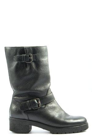 U.s. polo assn. Booties schwarz-silberfarben Casual-Look