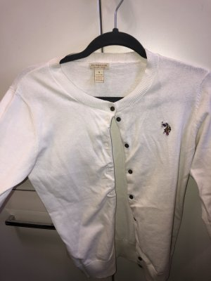 U.S Polo Assn. Cardigan White