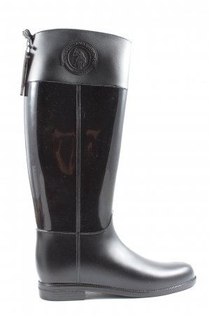 U.s. polo assn. Botas de agua negro look casual